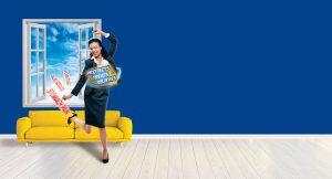 ULSANIC Banner – jumping woman | Ulsanic